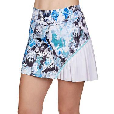 Sofibella Dreamscape 14 inch Skirt Plus Size Womens Mineral/White 1977 MINP
