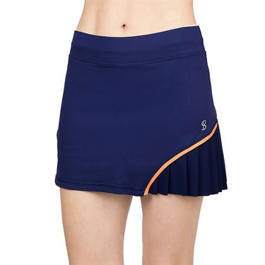 Sofibella Tempo 14 inch Skirt Womens Navy 1977 NVY