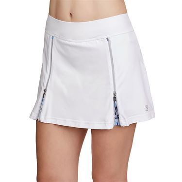 Sofibella Dreamscape 12 inch Skirt Womens White/Mineral 1979 WHT