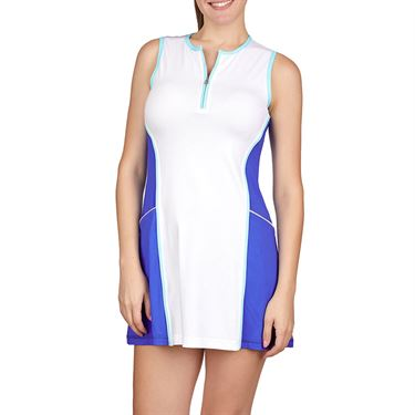 Sofibella Dreamscape Dress Womens Royal Waters/White 1981 RWS