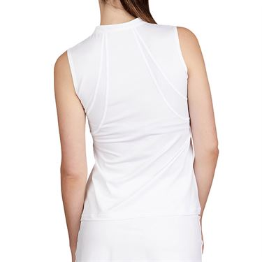 Sofibella Club Lux Sleeveless Top Plus Size Womens White/Diamond 1982 WHTP