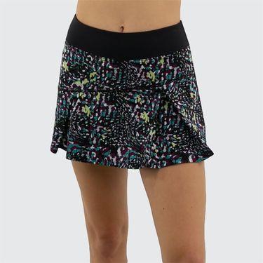Lija Zest For Life Topspin Skirt Womens Black Specks 19A 4495T2
