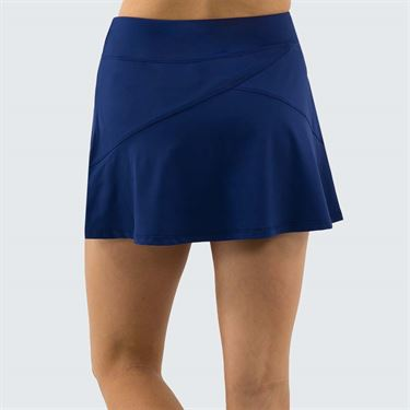Lija Get In The Game Angle Skirt Womens Midnight Blue 19A 4563T3