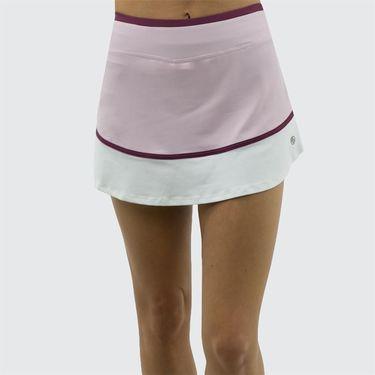 Lija Spring Bloom Sharp Skirt - Whimsy/White/Dewberry