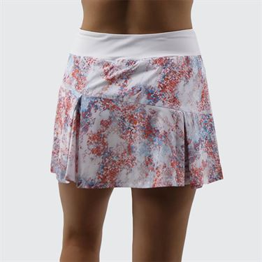 Lija Paradise Found Topspin Skirt - Abstract/White
