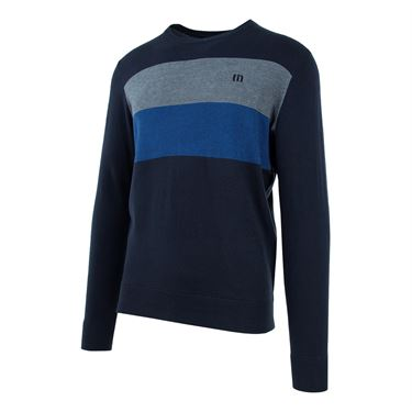 Travis Mathew Look At Me Sweater - Blue Nights