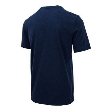 Travis Mathew Drebo Tee - Heather Blue Nights