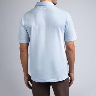 Travis Mathew Open To Buy Polo Shirt Mens Heather Kentucky 1MP001 4HKB