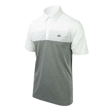 Travis Mathew Frankenstein Polo - White