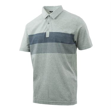 Travis Mathew The Pitt Polo - Heather Grey