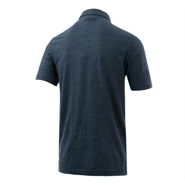 Travis Mathew Boyle Polo - Vintage Indigo/Black