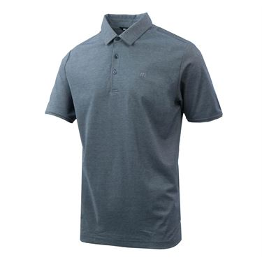 Travis Mathew Essentials Classy Polo - Heather/Vintage Indigo
