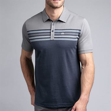 Travis Mathew All Day Every Day Polo Mens Quiet Shade 1MR116 0QSH
