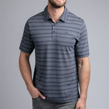 Travis Mathew Casual Friday Polo Shirt Mens Mood Indigo 1MR143 4MIN