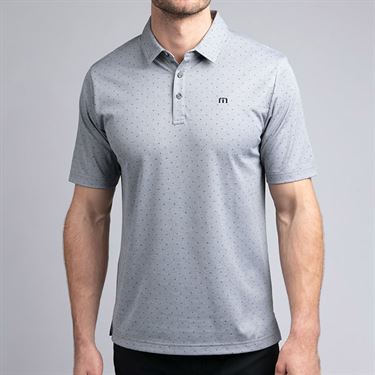 Travis Mathew Sniper Polo Shirt Mens Heather Quiet Shade 1MR170 0HQS