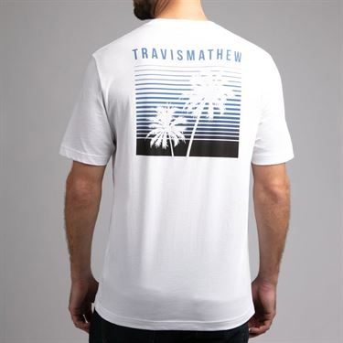 Travis Mathew Extra Hot Sauce Tee Shirt Mens White 1MR208 1WHT