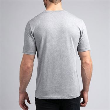 Travis Mathew Human Resources Tee Shirt Mens Heather Grey 1MR212 0571