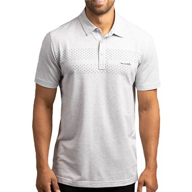 Travis Mathew Matira Polo Mens Heather Grey 1MT032 9HGRû