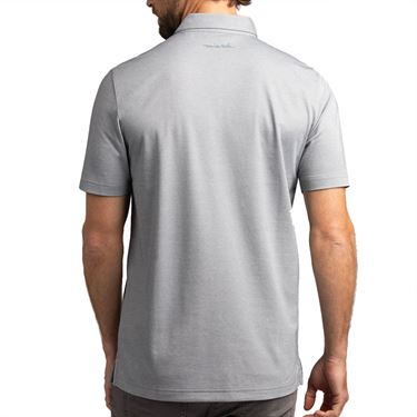 Travis Mathew Postcard Home Polo Mens Heather Quiet Shade 1MT041 0HQS