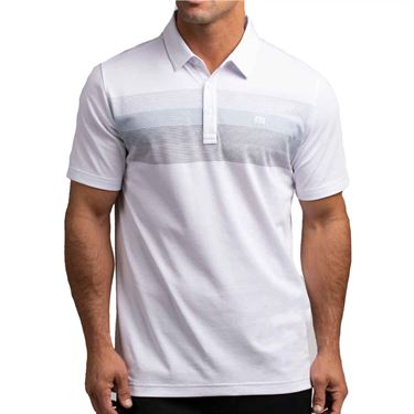 Travis Mathew Umbrella Shade Polo Mens White 1MT046 1WHT
