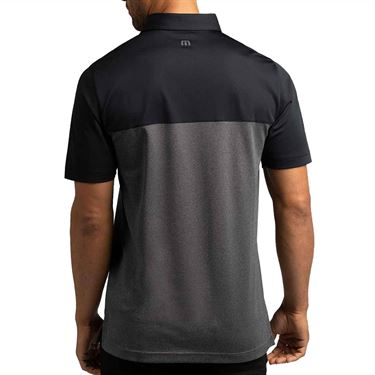Travis Mathew Bayou Road Polo Mens Black 1MT048 0BLK