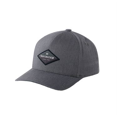 Travis Mathew Flight Info Mens Hat - Heather Quiet Shade