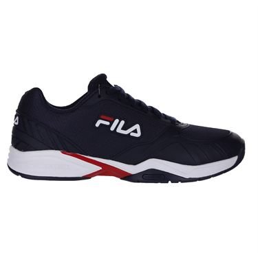 Fila Volley Zone Mens Pickleball Shoe - Navy/Red/White