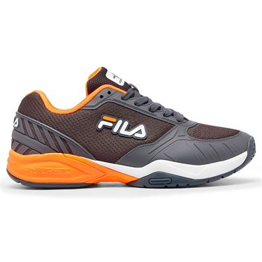 Fila Volley Zone Mens Pickleball Shoe Grey/Orange 1PM00595 065û