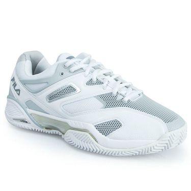 Fila Sentinel Womens Tennis Shoe - White/Silver