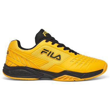 Fila Axilus 2 Energized Mens Tennis Shoe Gold Fusion/Black 1TM00616 801