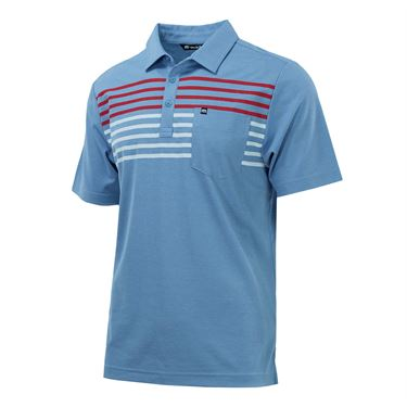 Travis Mathew Ship Wreck Polo - Heather Allure