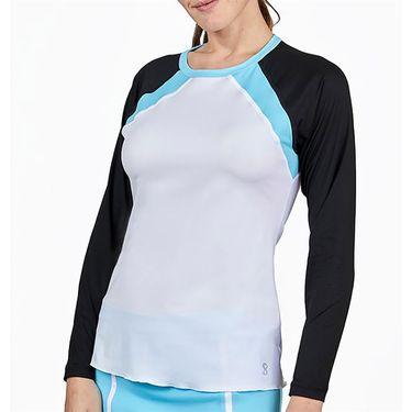 Sofibella Dresscode Long Sleeve Top Womens White 2008 WHT