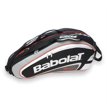 Babolat Team Line Black 6 Pack Tennis Bag 751055-105