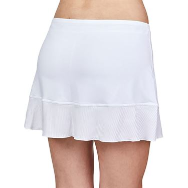 Sofibella Alignment 14 inch Skirt Plus Size Womens White 2040 WHTP