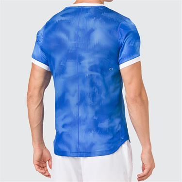 Asics Club Graphic Shirt - Illusion Blue