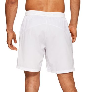 Asics Elite Tennis 7 inch Short Mens Brilliant White 2041A080 100