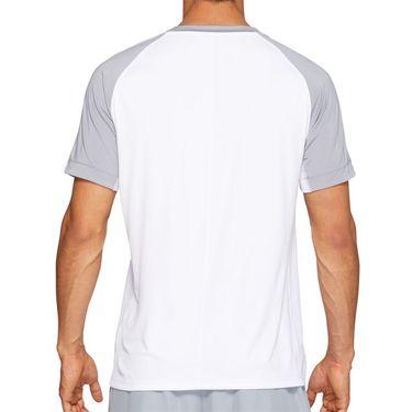 Asics Club Graphic Tee Shirt Mens Brilliant White 2041A085 100