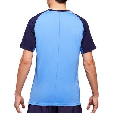 Asics Club Graphic Tee Shirt Mens Blue Coast 2041A085 400