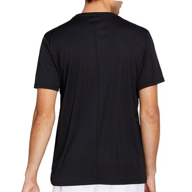 Asics Practice Graphic Tee Shirt Mens Performance Black 2041A090 001
