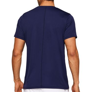 Asics Practice Graphic Tee Shirt Mens Peacoat 2041A090 401