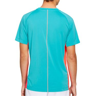 Asics Club GPX Tee Shirt Mens Techno Cyan 2041A120 300