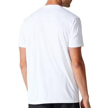 Asics Court Graphic Tee Shirt Mens Brilliant White 2041A143 100