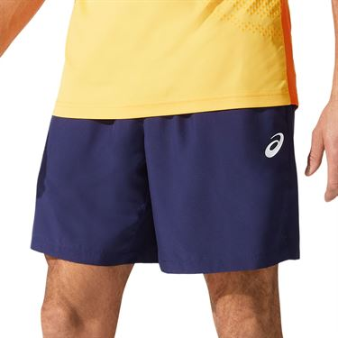 Asics Court 7 inch Short Mens Peacoat 2041A150 400