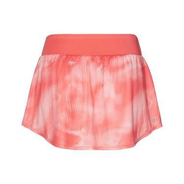 Asics Club Graphic Skirt - Papaya