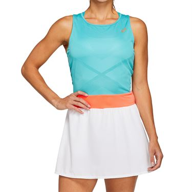 Asics Tennis Dress Womens Techno Cyan 2042A091 300