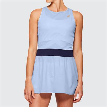 Asics Elite Tennis Dress Womens Soft Sky 2042A091 405