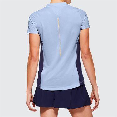Asics Elite Tennis Tee Shirt Womens Soft Sky 2042A093 405