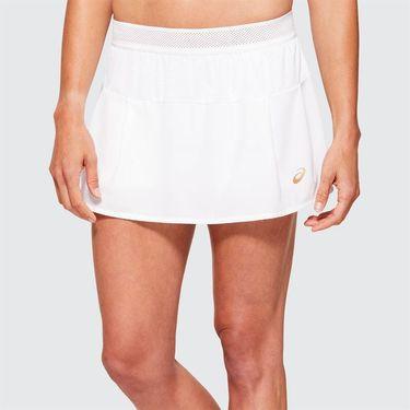 Asics Elite Tennis Skirt Womens Brilliant White 2042A095 100