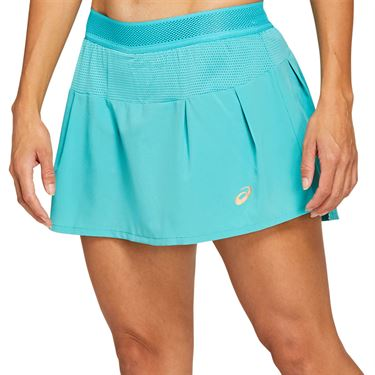 Asics Tennis Skirt Womens Techno Cyan 2042A095 300