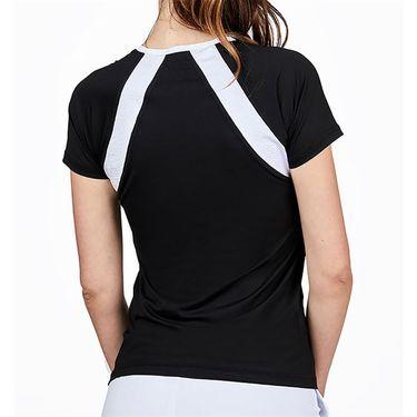 Sofibella Dresscode Top Womens Black/Croc 2046 BLK